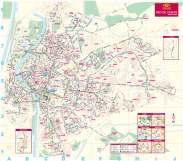 Seville bus map